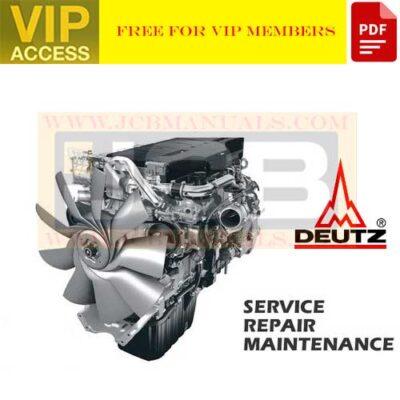 DEUTZ Engine 2011 Workshop Manual