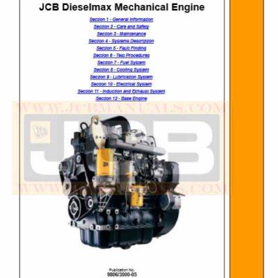 JCB Dieselmax Engine Service Repair Manual