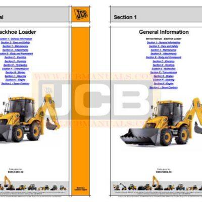 JCB 3C 3CX 4CX Backhoe Loader Service Repair Manual