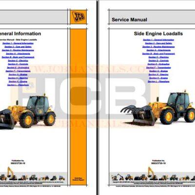 JCB 541-70 Telescopic Handler Service Repair Manual