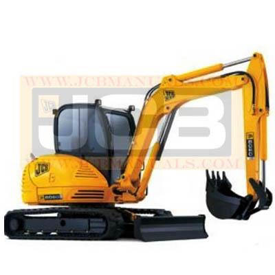 JCB  Midi Excavator 8052-8060 Service Manual