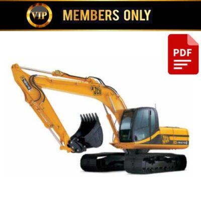 JCB Excavator JS200 JS210 JS220 JS240 JS260 Service Repair Manual