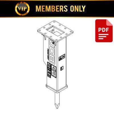 JCB HM012T HM380T Hydraulic Breaker Service Repair Manual