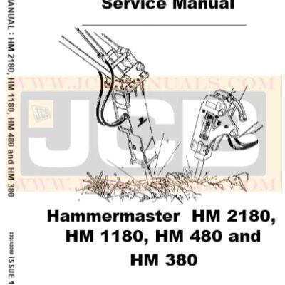 JCB Hammermaster HM 2180 HM 1180 HM 480 HM 380 Service Manual