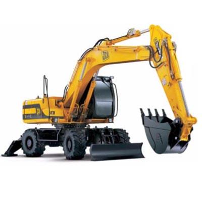 JCB JS175W Wheeled Excavator AUTO Service Repair Manual
