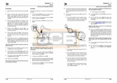 JCB Loader 411B Service Manual