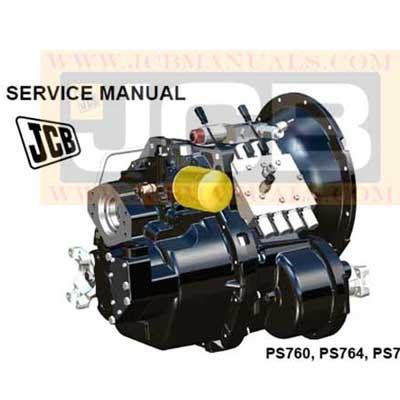JCB PS760, PS764, PS766 Transmission Service Repair Manual
