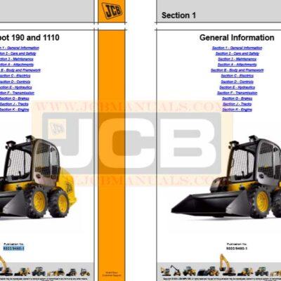 JCB Robot 190 and 1110 Service Repair Manual