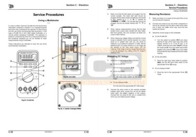 JCB TM310 Service Manual