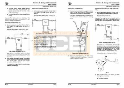 JCB TM310WM Agricultural Loader Service Manual