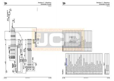 JCB TM320 Agricultural Loader Service Manual