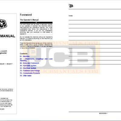 JCB 4CX Backhoe Loader [Piling Master] Service Repair Manual