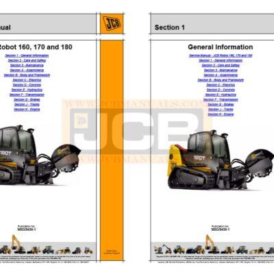JCB Robot 160 170 180 Service Repair Manual