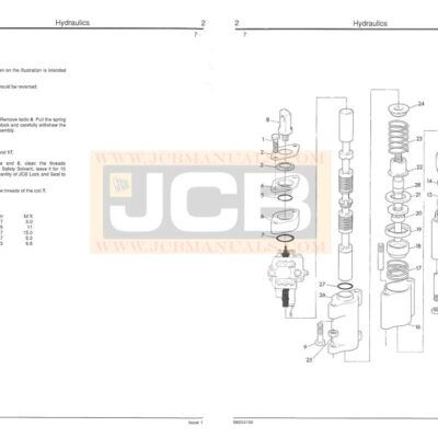 JCB Wheeled Loader 410, 412, 415, 420, 425, 430 Service Repair Manual