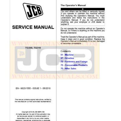 Drivetrain TG300,TG310 Transfer Gearbox Service Repair Manual
