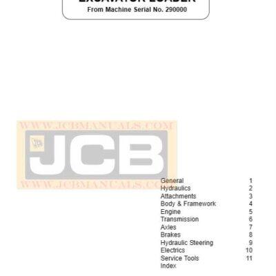 JCB 2CX, 2DX, 210, 212 Backhoe Loader Service Repair Manual