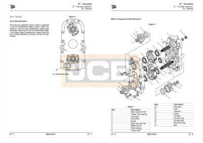 JCB Drivetrain TG300