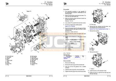 JCB Drivetrain TG310