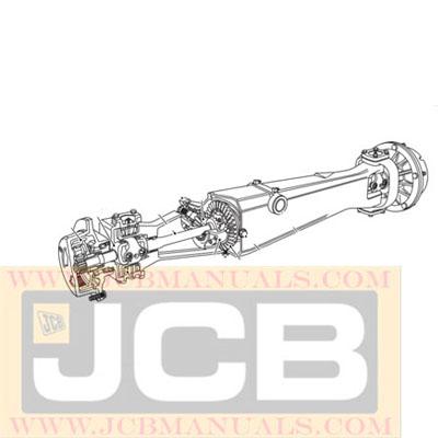 JCB SD70 SD80 Axle Service Repair Manual