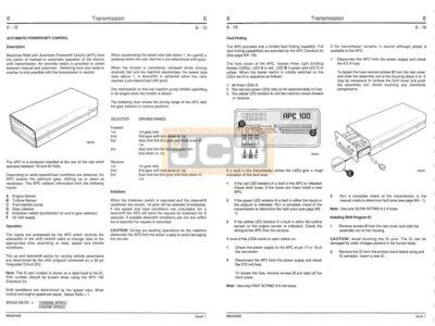 JCB 435 service manual