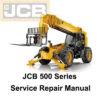 jcb loadall service manual