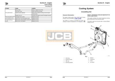 JCB Groundhog service manual