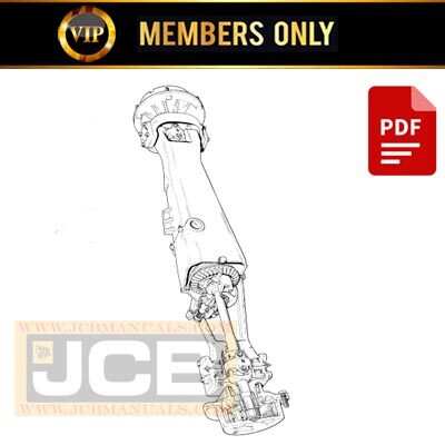 JCB SD 55 & ST Axle Service Repair Manual