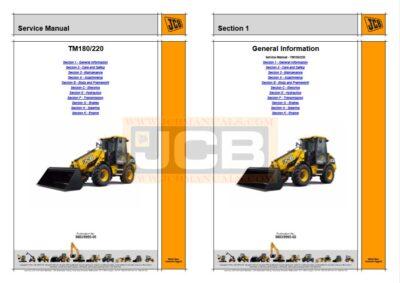 JCB TM180 Service Manual