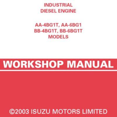 Isuzu AA-4BG1T, AA-6BG1 BB-4BG1T, BB-6BG1T DIESEL ENGINE Workshop Manual