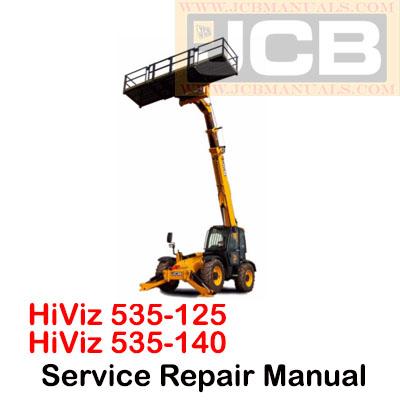 JCB 535-125 HiViz and 535-140 HiViz Service Repair Manual