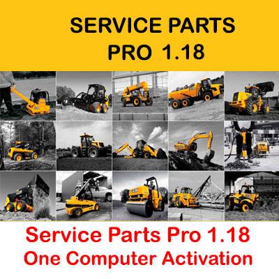 JCB Service Parts Pro 1.18 [SPP 1.18] Activation