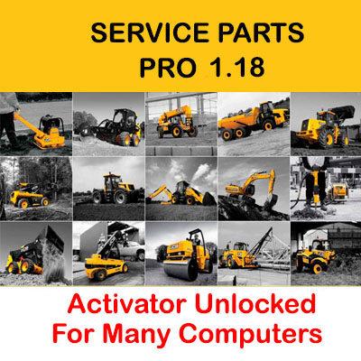 JCB Service Parts Pro 1.18 [SPP 1.18] Unlocked for Many Computers