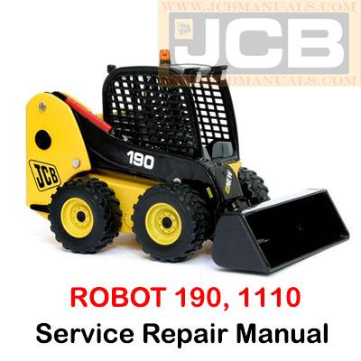 JCB ROBOT 190, 1110 Service Repair Manual