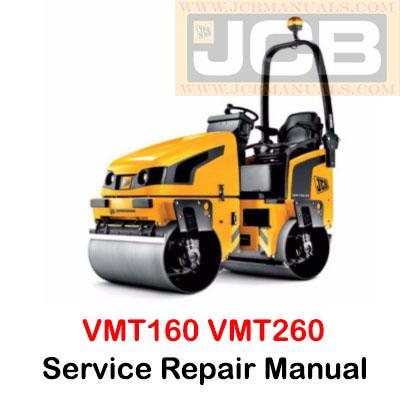 JCB VMT160 VMT260 Tier 2 and Tier 4 Service Repair Manual