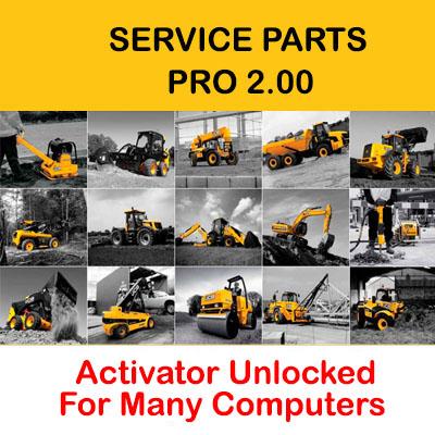 JCB Service Parts Pro 2.0 [SPP 2.0] Unlocked for Many Computers