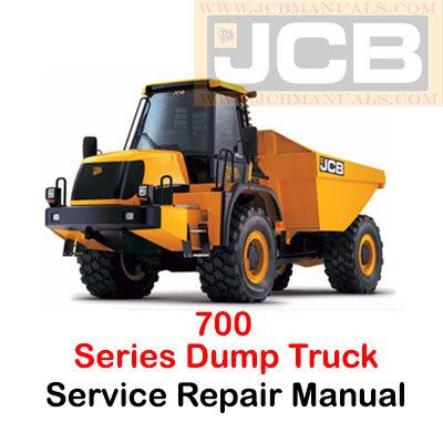 JCB 700 Series Dump Truck Service Repair Manual