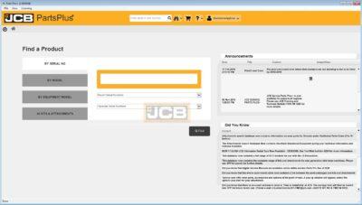 jcb parts catalog