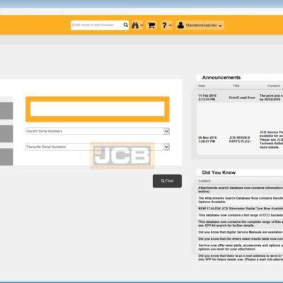 JCB Service Parts Pro 2.0 [SPP 2.0] Activation