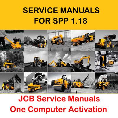 JCB Service Manuals 01.2017 for SPP 1.18 Activation