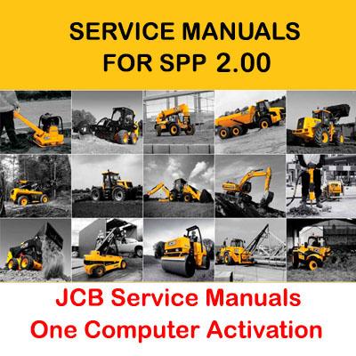 JCB Service Manuals 01.2017 for SPP 2.00 Activation
