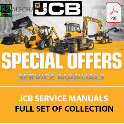 JCB Service Manuals Full Set Of Collection