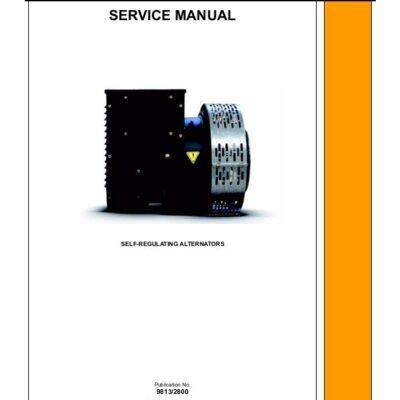 JCB Generator Self Regulating Alternator Service Repair Manual