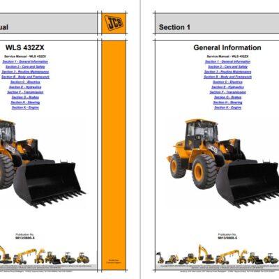 JCB WLS 432ZX Wheel Loader Service Repair Manual
