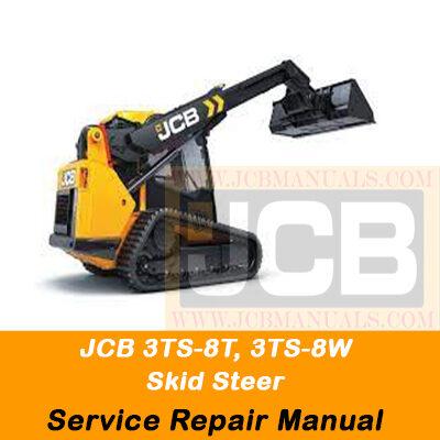 JCB 3TS-8T, 3TS-8W skid steer Service Repair Manual