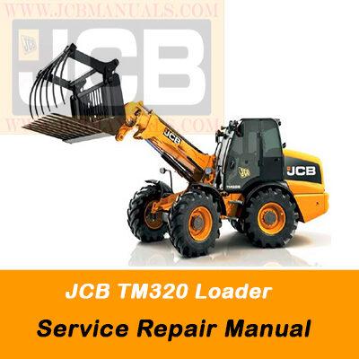 JCB TM320 Loader Service Repair Manual