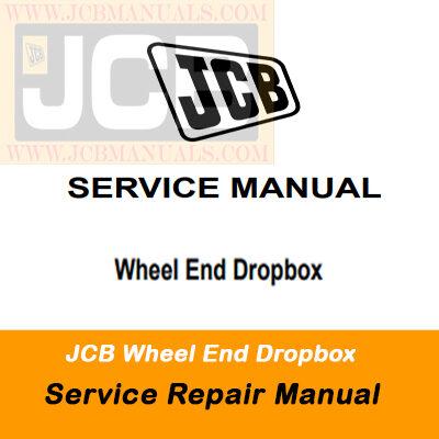 JCB Wheel End Dropbox Service Repair Manual