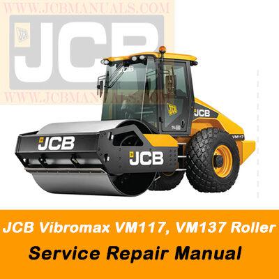 JCB Vibromax VM117, VM137 Roller Service Repair Manual