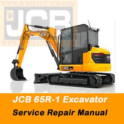 JCB 65R-1 Excavator Service Repair Manual