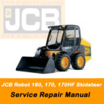 JCB Robot 160, 170, 170HF Skidsteer Operator's Manual