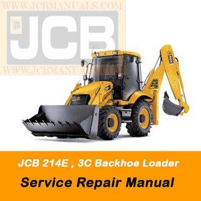 JCB 214E , 3C Backhoe Loader Parts Manual